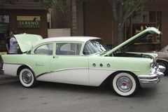 Green Buick Special two-door sedan 1955 Royalty Free Stock Image