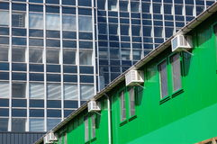 A green building Royalty Free Stock Images