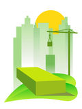 Green building Royalty Free Stock Photo