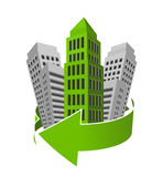 Green building Royalty Free Stock Images