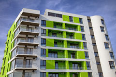 Green building Stock Image