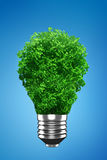 Green Bulb Royalty Free Stock Image
