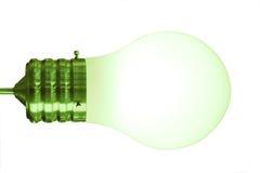 Green bulb Stock Photo