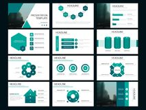 Green Bundle infographic elements presentation template. business annual report, brochure, leaflet, advertising flyer, Stock Images