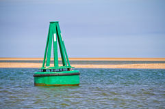 Green Buoy Royalty Free Stock Image