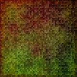 Green and burgundy  mosaic Royalty Free Stock Images
