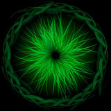 Green Burst Royalty Free Stock Images