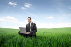 Green business Royalty Free Stock Images