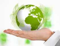 Green business Royalty Free Stock Image