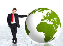 Green business Royalty Free Stock Photos