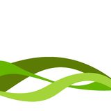 GREEN BUSINESS BACKGROUND. Green Business Vector Background Illustration Royalty Free Stock Image
