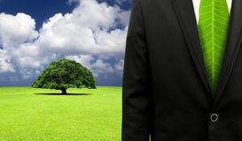 Green business concept Royalty Free Stock Image