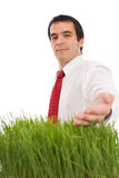 Green business concept - with copy space Stock Image