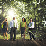Green Business Conservation Colleagues Occupation Concept Stock Photos