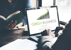 Green Business Conservation Responsibility Eco Concept Royalty Free Stock Photography