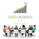 Green Business Conservation Responsibility Eco Concept Stock Photos
