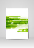 Green business design Royalty Free Stock Image