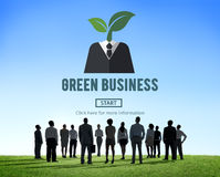 Green Business Ecology Environment Concept Royalty Free Stock Photography
