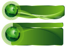 Green Business elegant abstract background Royalty Free Stock Image