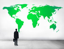 Green Business Environment Global Conservation Concept Stock Photography