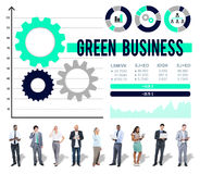 Green Business Environmental Conservation Finance Concept Stock Images