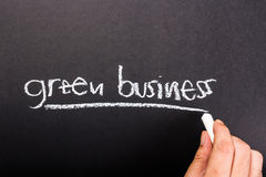 Green Business Stock Images