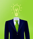 Green Business Idea Royalty Free Stock Photos