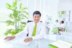 Green Business Office Royalty Free Stock Images