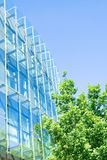 Green business office building Royalty Free Stock Photo