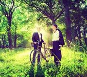 Green Business Partnership Outdoors Environment Concept.  royalty free stock photos