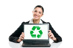 Green business recycle Royalty Free Stock Images