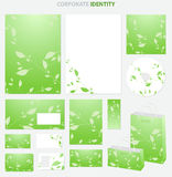 Green Business style Royalty Free Stock Photography