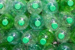Green butles Royalty Free Stock Photo
