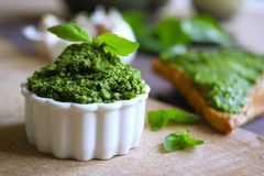 Green butter Royalty Free Stock Photography