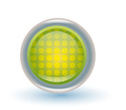 Green button Stock Photos