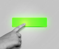 Green Button Royalty Free Stock Images