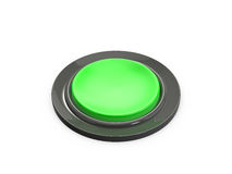 Green Button Royalty Free Stock Photography