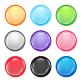 Multi-colored buttons. Stock Photo