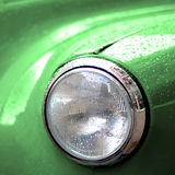 Green Cab Head Light Royalty Free Stock Image