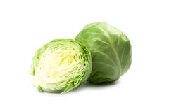Green cabbage Stock Photos