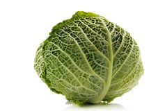Green cabbage Royalty Free Stock Photo