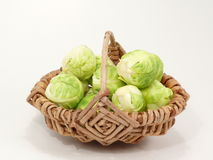 Green cabbage. Winter vegetables, healthy and fresh Royalty Free Stock Photography