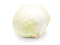 Green cabbage isolated on white background Stock Image
