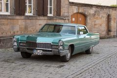 Green Cadillac Royalty Free Stock Photos