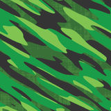 Green Camo Seamless Vector. A military comouflage texture - this tiles seamlessly as a pattern Royalty Free Stock Image
