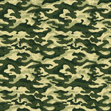 Green camouflage with grunge effect background, vector illustration Stock Photos