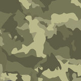 Green camouflage. Military vector background. Royalty Free Stock Images
