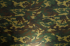 Green Camouflage pattern Stock Image