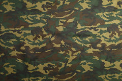 Green Camouflage pattern. Background for hunting or fishing and Military clothes Royalty Free Stock Images