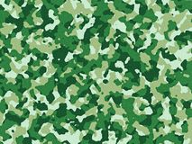 Green camouflage pattern. Textured green camouflage pattern background royalty free stock images